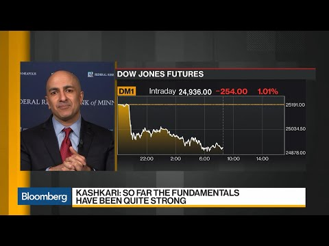 Kashkari Says He's 'Not Quite There Yet' on Need to Change Fed Rate Path Mp3