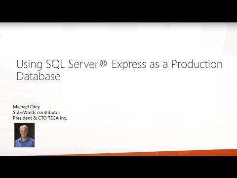 Using SQL Server Express as a Production Database