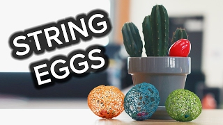 String Egg Treats