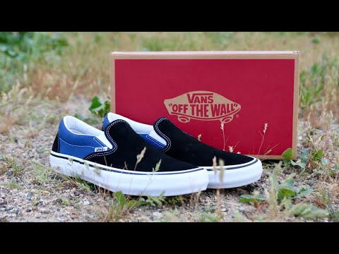 898157285461ad Vans slip on pro x Anti Hero unboxing (pfanner black)