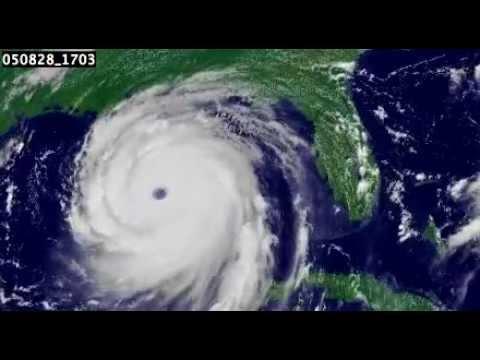 Satellite photo of Hurricane Katrina over The Gulf of ...  Hurricane Katrina Satellite Thermal