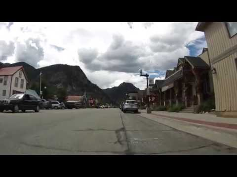 Five mile Bicycling Loop around Frisco, Colorado  08/18/14