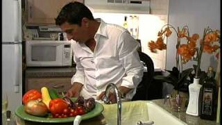 Slim Man Cooks Grilled Vegetable Pasta Salad