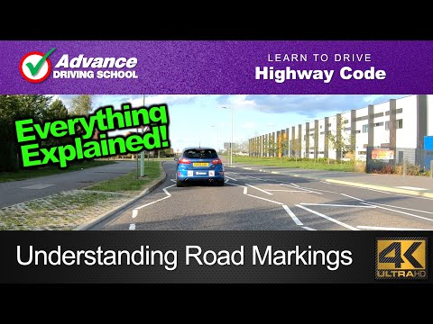 Understanding Road Markings  |  Learn To Drive: Highway Code