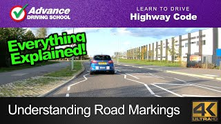 Road Markings  |  Learning to drive: Highway Code