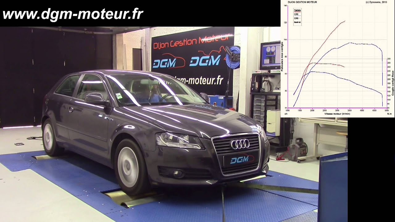 reprogrammation audi a3 1 6l tdi 105ch dijon gestion moteur youtube. Black Bedroom Furniture Sets. Home Design Ideas