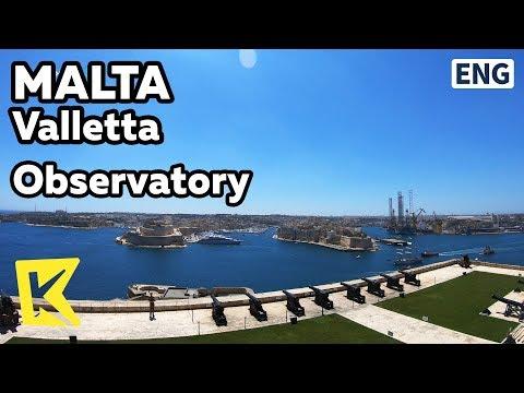 【K】Malta Travel-Valletta[몰타 여행-발레타]몰타 전경/Unesco/Observatory/Upper Barrakka Gardens