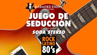 Juego de seduccion - Soda Stereo (Versión Cover karaoke con letra pintada)