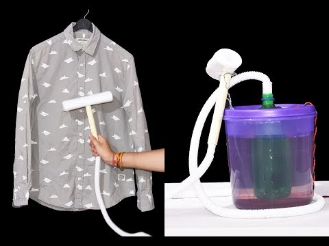 How to Make a Garment Steamer Iron at Home - Easy Way
