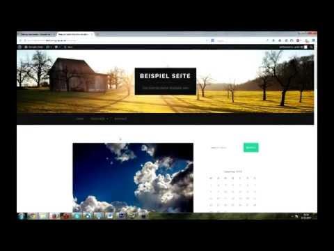 Eigene Website erstellen mit .de / .com Domain - Tutorial auf Deutsch