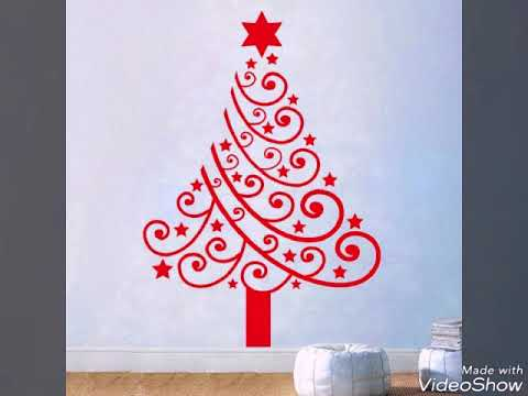 Wall Christmas Trees Ideas.30 Wall Christmas Trees Alternative Christmas Tree Ideas