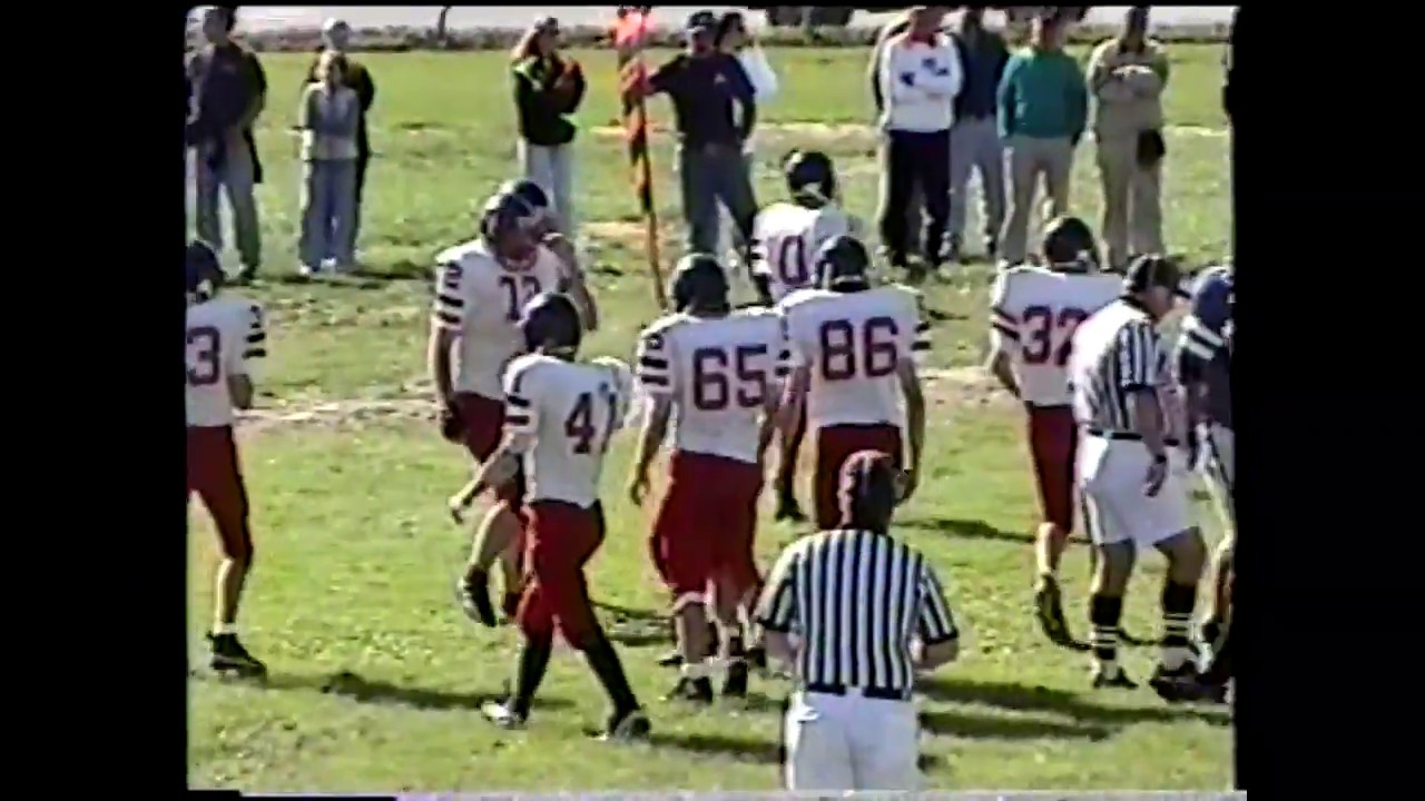 NCC - Peru - Tupper Lake JV Football  9-18-99