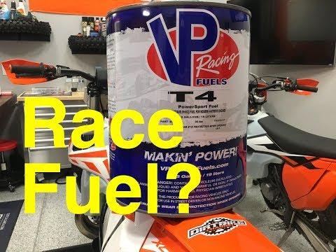 VP Race Fuel In Your Dirt Bike? 4K