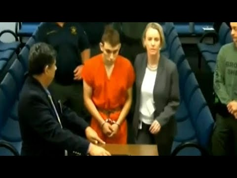 Florida School Shooter Wears Orange Jumpsuit to Court for Arraignment
