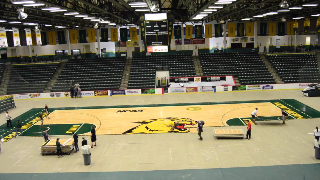 Northern Michigan University Berry Events Center Transformation Northern Michigan University