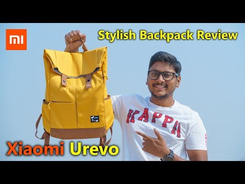 Xiaomi's New College Backpack 2019 | Xiaomi Urevo Stylish Backpack Review