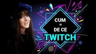 Cu si despre TWITCH (tutorial) / Dc NU fac live pe youtube