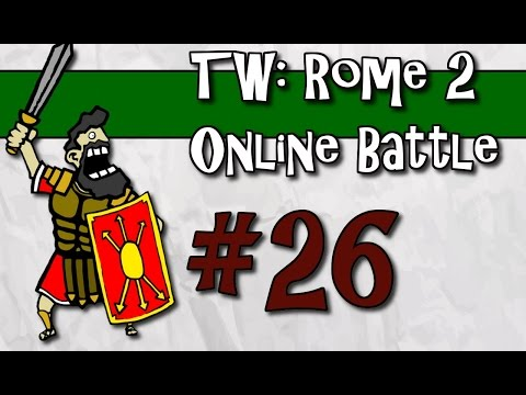 "Total War: Rome II - Online Battle - #26 ""3v3 with Indy and TPP"""