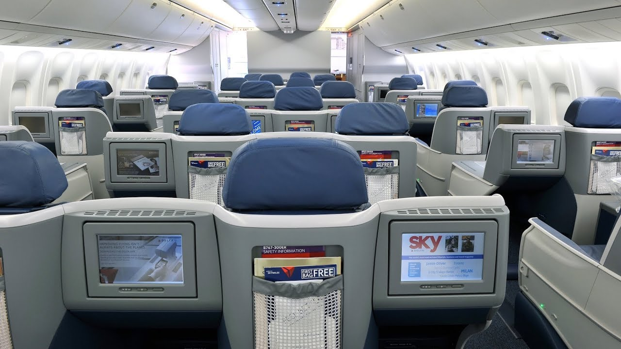 Delta Air Lines Boeing 767 Business