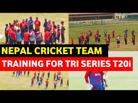 Nepal Cricket Team Traning For Tri Nation T20i Series|| Nepal, Netherlands, Malaysia ||Tu Stadium||