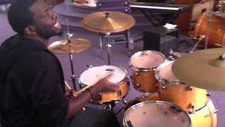 Drum Lessons Paradiddles  Six Stroke Rolls and praise break polyrhythms