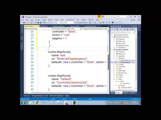 69 ASP NET MVC Course   Bookstore real application   Refining the URL Scheme for incoming requests
