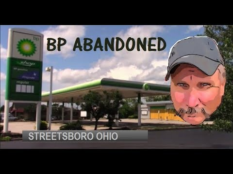Abandoned BP Gas Station-Streetsboro Ohio