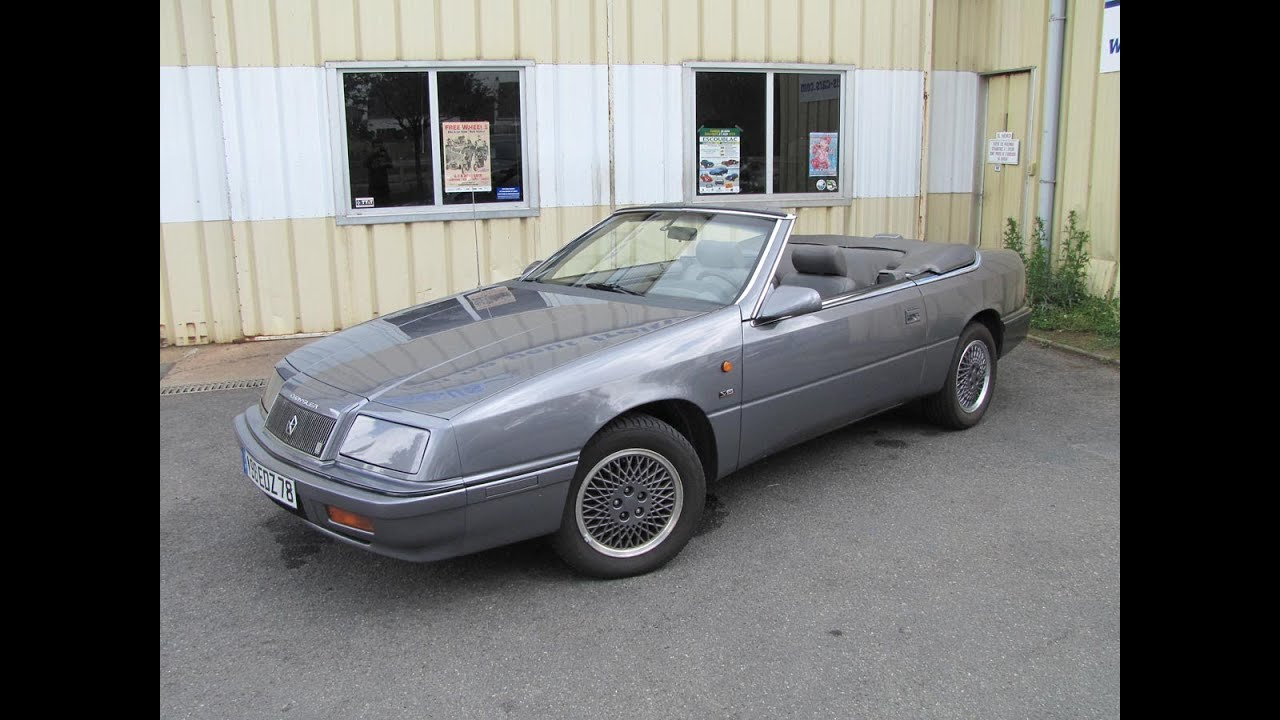Chrysler le baron v6 1991 youtube sciox Image collections