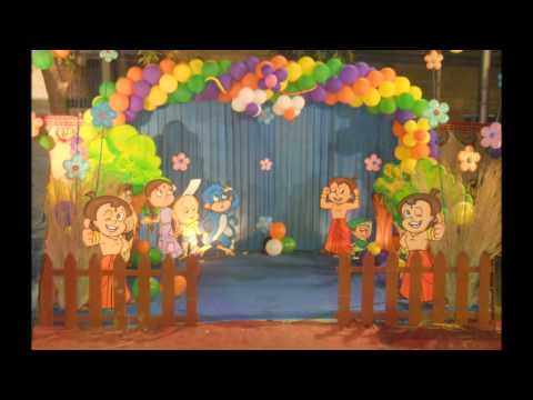 Chota Bheem Theme Party Decor YouTube
