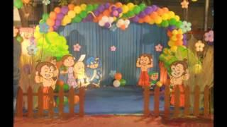 Chota Bheem Theme party decor