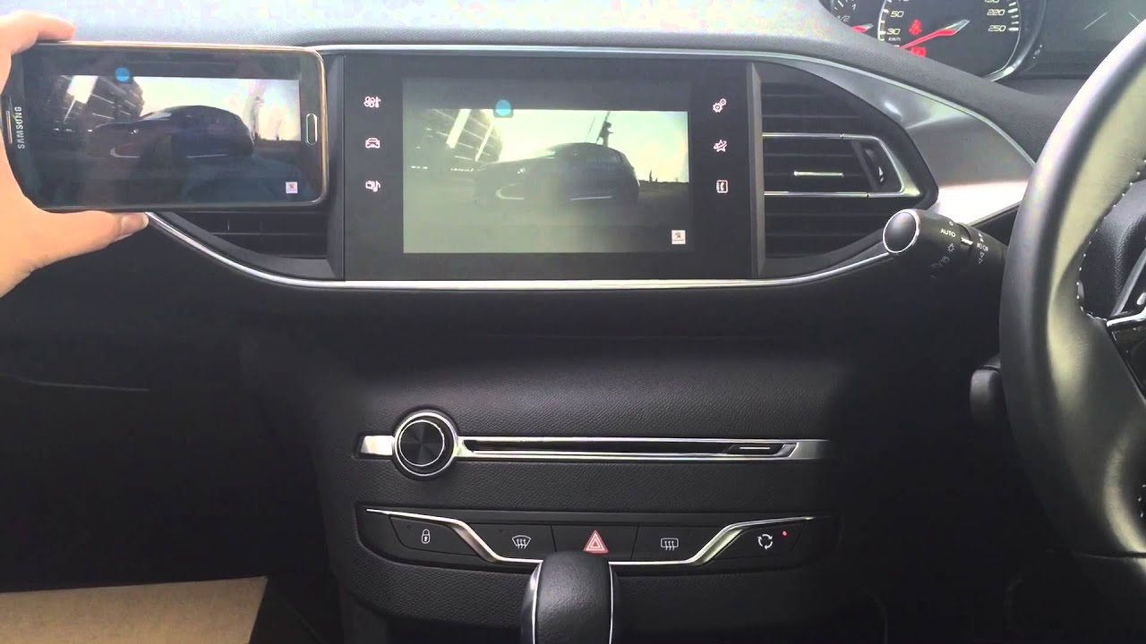 peugeot 308 mirror link system malaysia youtube. Black Bedroom Furniture Sets. Home Design Ideas