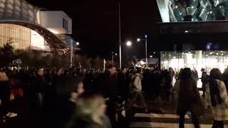 Inauguration de Muse à Metz : la foule se divise pour accéder à la 2ème entrée