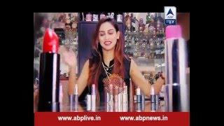 Krystle D'Souza gives tips on lipstick