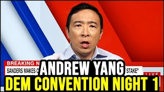 Andrew Yang Democratic National Convention Night 1 Analysis