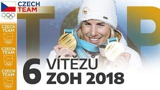 TOP: 6 vítězů z olympiády v Koreji