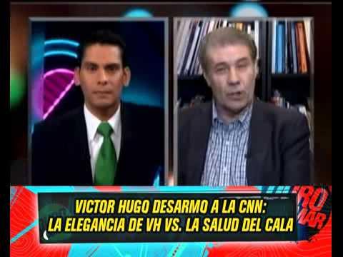 VICTOR HUGO DESARMO A LA CNN 21-05-13