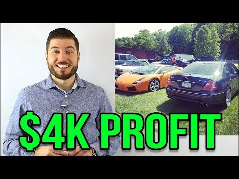 How I Made $4000 Owning A Mercedes Benz Supercar