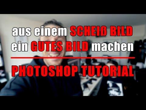 Photoshop - aus einem schei.... Bild ein gutes Bild :-)