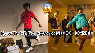 HOW TO REVERSE THE BLOCBOY JB SHOOT DANCE LIKE AYO & TEO