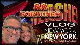 NY NY Vlog 🍫 Jackpot Streams 👑 Jackpot Stampede 💰 88 Fortunes 💰