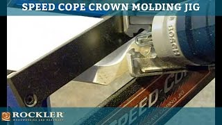 Rockler Speed Cope Crown Molding Jig