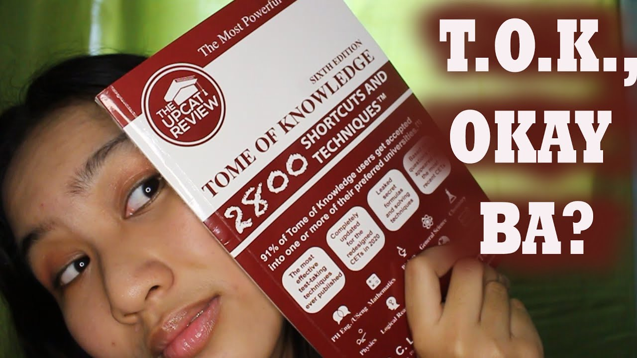 Tome of Knowledge (UPCAT REVIEWER) Okay ba? | Marielle Ropa