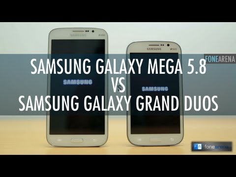 Samsung Galaxy Mega 5.8 Vs Samsung Galaxy Grand Duos