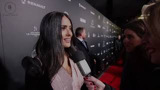 """ Unexpected question "" pour Salma Hayek"
