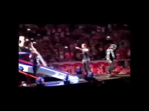 VIVA LA VIDA One Direction  Now and Then WWA Tour X Factor