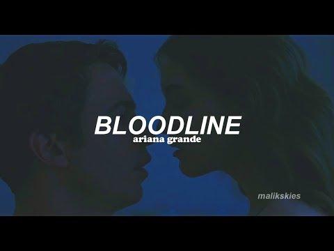 Ariana Grande - Bloodline (Traducida Al Español)