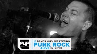 18 Bands Keeping PUNK ROCK Alive in 2018