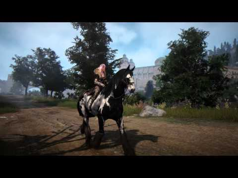 Black Desert Online 2nd Beta Seamless World Riding No UI UHD