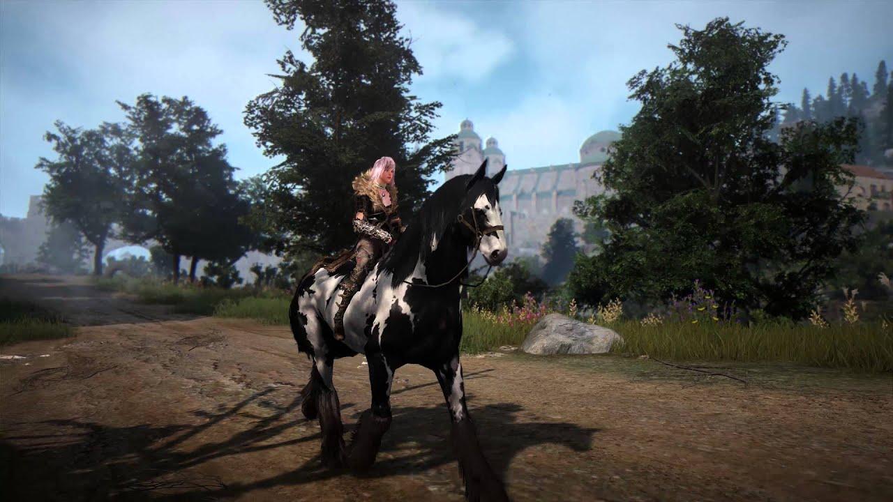 места ловли лошадей