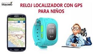 Reloj Localizador Con GPS Para Niños